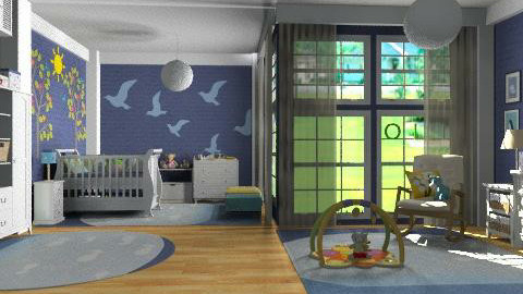 OLIVIER - Kids room - by aceitunilla