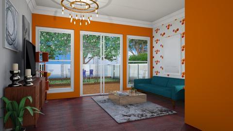 Garden Template - Eclectic - Living room - by laurenpoisner