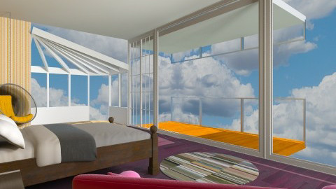 Round and round - Modern - Bedroom - by Jacquie Ru
