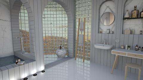 Modern Scape - Modern - Bathroom - by mmehling