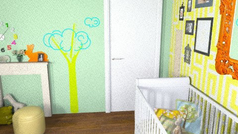 multi-gender nursery - Classic - Kids room - by BethB