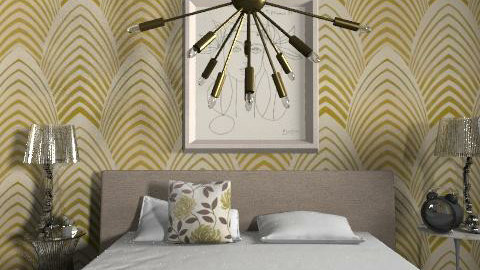 Alexandra Doele - Glamour - Bedroom - by alidoele
