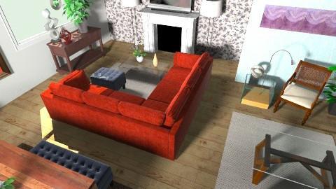2014 - Living room - by BlackVelve7