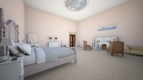 Royal room - Vintage - Bedroom - by Liberty Interior