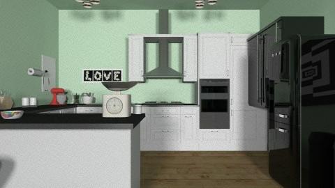 greenaway kitchen - Rustic - Kitchen - by iheartteddy