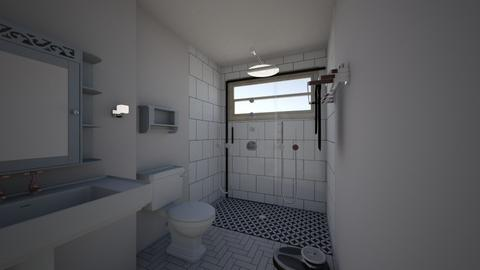 2nd floor bathroom  - Bathroom - by moxieboy