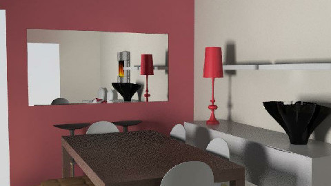salle manger V5 - Dining Room - by johanne