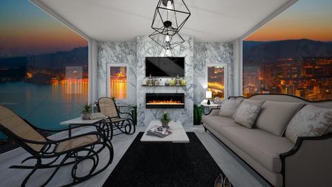 thonet gone modern - Modern - Living room - by chloe_mccarty