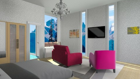 Master Bedroom - Modern - Bedroom - by Jacquie Ru