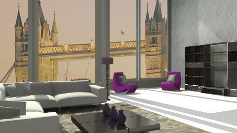 London apartment - Modern - Living room - by lottie21