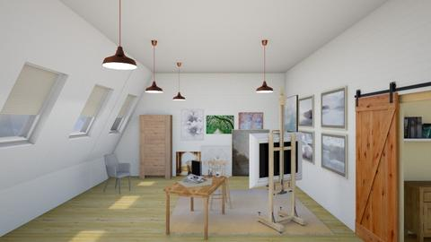artist loft - by fippydude