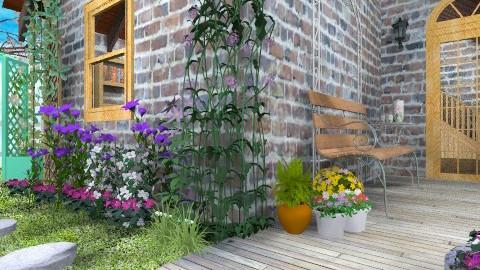 La Pause - Rustic - Garden - by Bibiche