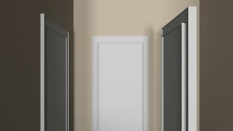 Hallway (looking towards bedroom) - Retro - Hallway - by russell_brandon