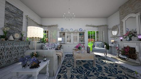 Shabby Chic LR 1 - Living room - by  krc60