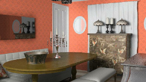 RR18_2 warm and inviting - Dining Room - by toadfool