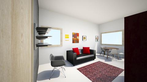 Olohuone_3 - Living room - by Essi_eames