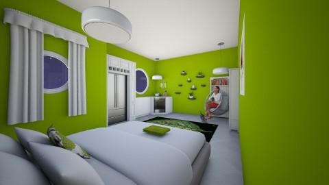 Fancy Dorm - Retro - by PJSmartyPantz