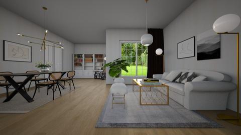 Thonet - Living room - by Paper Flower