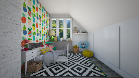 Ecletic Babies - Kids room - by Maria Esteves de Oliveira