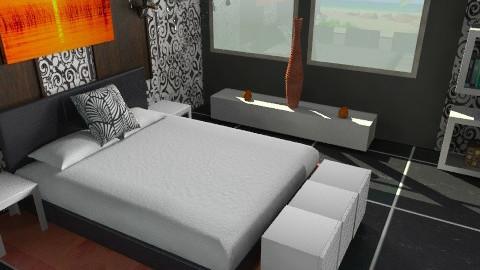 bedroom3 - Bedroom - by nithiaChackochen