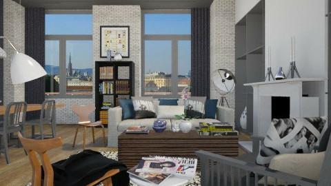 Homebyyoo - Living room - by Ernest Mistiaen