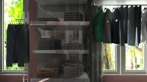 bedroom and dressroom - Feminine - Bedroom - by ypramestika