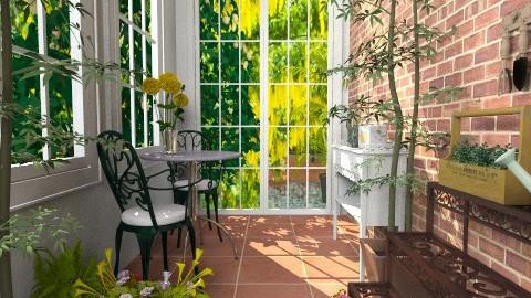 The Sun Room - Garden - by nikkisp
