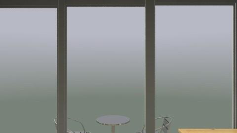 Balcony! - Retro - Hallway - by russell_brandon