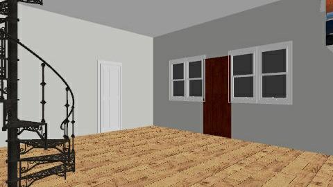 hall - Modern - by libbylepord