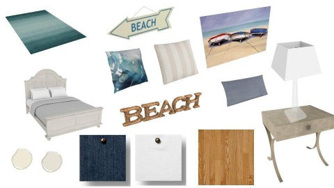 Beach Moodboard - by Caitllllin
