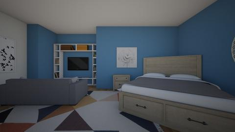 Sleep Art TV repeat - Bedroom - by Alice F
