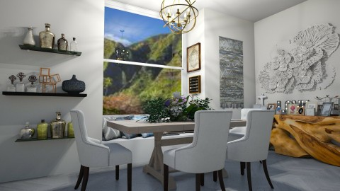 small dining room - Country - Dining room - by Rachael Mitai
