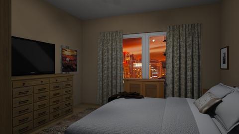 Flat 24 Bedroom 2 - Rustic - Bedroom - by RaeCam