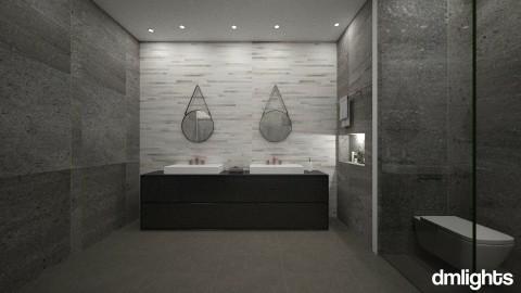 stone - Bathroom - by DMLights-user-1133665