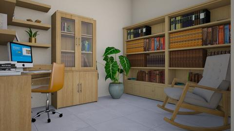 For Joanne Galle_680 IV - Eclectic - Office - by Theadora