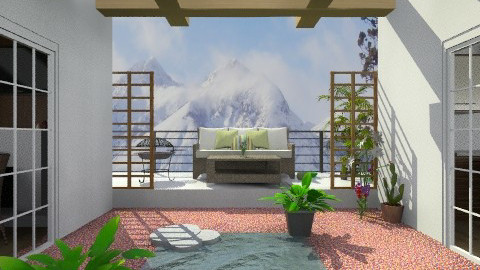 Outdoor living - by TheDesignQueen