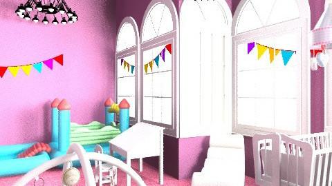my littel sister gimnastic nursery - Glamour - Kids room - by Isy Trisorio