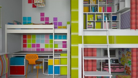 Reading Rainbow - Modern - Kids room - by starsector