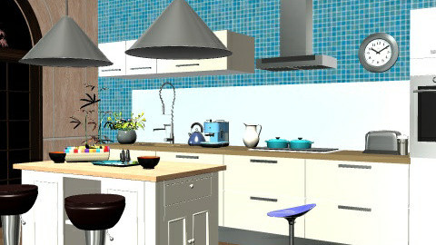 lovely cocking 3 - Modern - Kitchen - by zozoismail