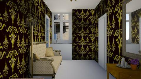 Gold Paris Tiny Room - by RocketFlyer22