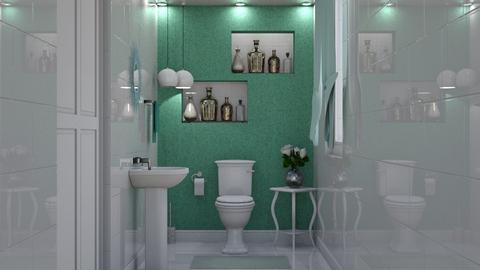 Simple  - Bathroom - by creato
