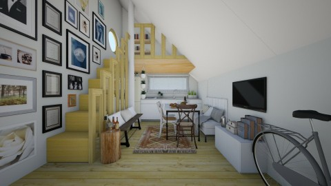 Lil kitchen - Eclectic - Kitchen - by Laurika