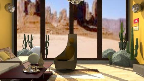 Dune - Rustic - Living room - by PomBom