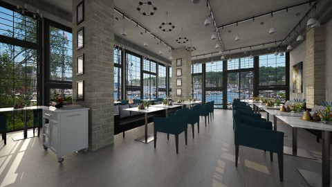Harbour Restaurant - Rustic - by ayu DR