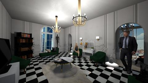 6 - Classic - Living room - by Arina0007