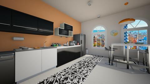 orange is new black - Vintage - Kitchen - by franciss