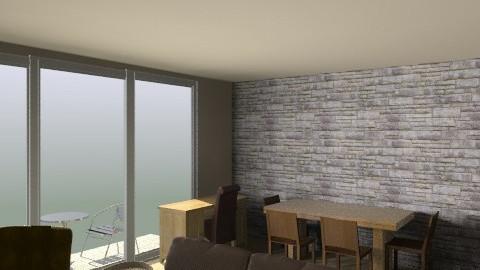 Living Room/Dining Room - Retro - Hallway - by russell_brandon
