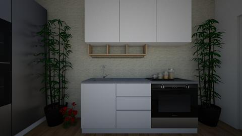 modern kitchen - by natasa_zivanovic3135