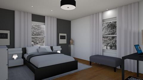 FS Mstr Mentor Area - Modern - Bedroom - by Daisy de Arias