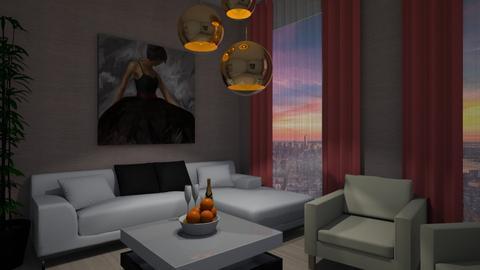 Romantic Night - Modern - Living room - by colorful_eye